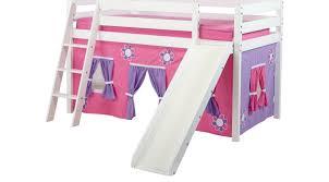 loft beds with slides