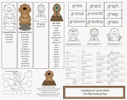 grandparents day writing paper worksheet groundhog day worksheets free fiercebad worksheet and groundhog template http www daniellesplace com html groundhogday free printable day writing paper for school teachers to use