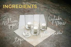cheap candelabra centerpieces centerpiece candle how to vellum candle centerpiece a practical