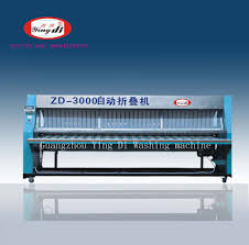 Commercial Laundry Folding Table Sheets Automatic Folding Machine Industrial Folder Machine