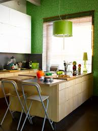 captivating small kitchen island with seating ikea and lime green