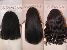 la hair extensions getting my hair at la vita that belfast girl