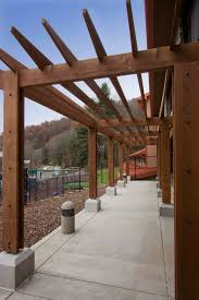 Modern Pergola Plans by Outdoor Decoration Gorgeous Backyard Landscape Ideas With Wooden