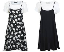 90s dress spaghetti straps t shirts the 90s revived women s fashion