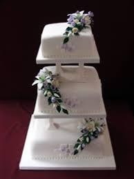 Square Wedding Cakes Classic Wedding Cakes Catherines Cakes Reading Berkshire