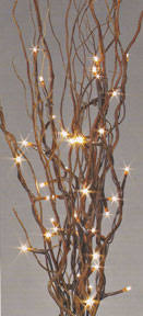 lighted willow branches lighted willow branches