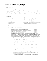 sample coaching resume 7 job summary examples coaching resume job summary examples writing a professional summary png