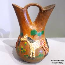 Navajo Wedding Vase Southwest American Indian Pottery Andrea Fisher Fine Pottery