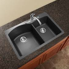 black kitchen sink faucets other kitchen blanco america silgranit black and