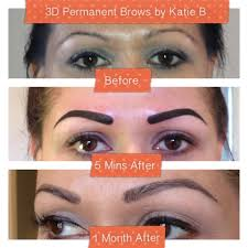 Permanent Makeup Eyebrows Hair Stroke 3d Hair Strokes Permanent Brows By Katie B Foreverkatieb Com Yelp