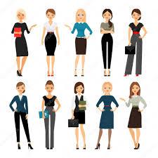 tenue de bureau femmes en tenue de bureau image vectorielle ssstocker 106283898