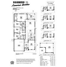 dr horton floor plan glenhurst 2191 harvest cove rockledge florida d r horton