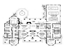 single level house plans one story mediterranean house floor plans mediterranean