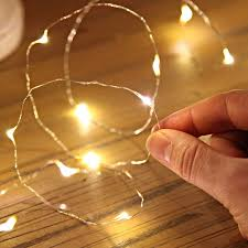 String Lights Uk by Warm White Led Silver Wire Micro Battery Fairy Lights