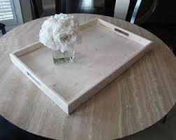 white tray coffee table white tray etsy