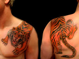 tiger tattoos tiger tattoo on shoulder 01 tattoo pinterest