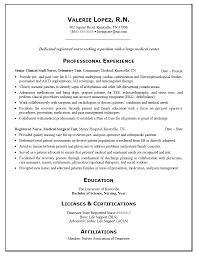 Nurse Practitioner Resume Examples Nursing Medical Resume Examples Registered Nursing Resume