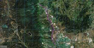 Colorado Springs Trail Map by Santafe Trail