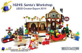 lighted santa s workshop advent calendar review 10245 santa s workshop town eurobricks forums