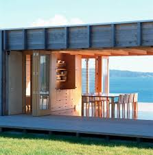 shipping container beach house in shipping container beach house