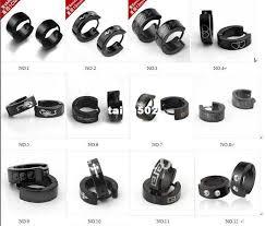 clip on earrings for men best 316l stainless steel clip earrings men s clip on