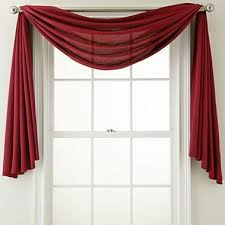 Scarf Curtains 1000 Ideas About Window Scarf On Sheer Curtain Panels
