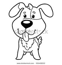vector illustration coloring happy cartoon stock vector