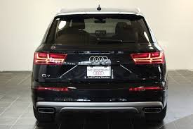 audi suv houston certified used 2017 audi q7 2 0t premium for sale in houston tx