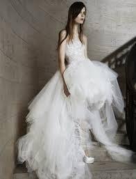 robe de mariã e printemps toutes les robes de mariée de la collection vera wang 2015