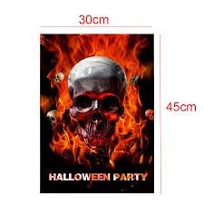 halloween garden flag hallowmas garden banners scary trick or