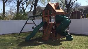gorilla mountaineer clubhouse treehouse playset youtube