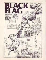 Black Flag Wasted Raymond Pettibon The Art Of Black Flag 1980s Asx