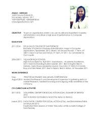 Office Experience Resume Ojt Sample Resume Sample Resume For College Students With No