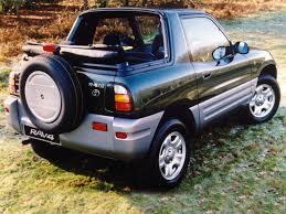 toyota convertible toyota rav4 convertible uk spec u00271998 u20132000