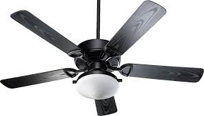 Black Outdoor Ceiling Fans With Lights by Quorum 1435255959 Estate Patio Matte Black 52