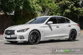 White Mustang With Black Wheels 2015 Infiniti Q50 20