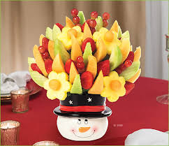 christmas fruit arrangements why edible arrangements theme bouquets should be included in your