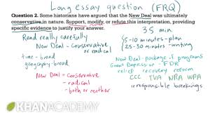 sample of essay questions ap us history long essay example 1 us history khan academy ap us history long essay example 1 us history khan academy