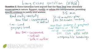 history extended essay sample ap us history long essay example 1 us history khan academy ap us history long essay example 1 us history khan academy