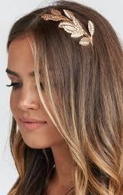 gold headband renee gold leaf headband gold show me your mumu