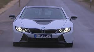 bmw headlights at night 2014 bmw i8 by night bmw laserlight and selective beam youtube