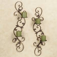 Joselyn Wall Sconce Joselyn Small Wall Sconces Set Of Two Uttermost Candleholders Also
