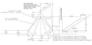 Hip Roof Design Calculator Roof Framer U0027s Bible Framing A Bay Window Roof Framing