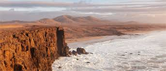 Rugged Landscape Fuerteventura The Quiet Canary Island Travelmyne Com
