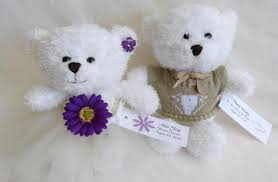 flower girl teddy gift personalized flower girl and ring bearer lilblackdogcrafts