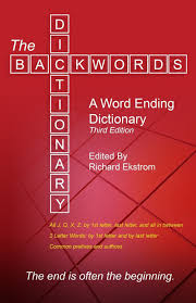amazon com the backwords dictionary a word ending dictionary
