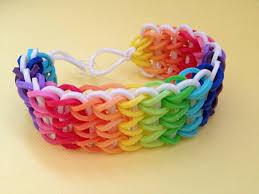 bracelet bands rubber images Cool idea making rubber band bracelets rainbow bracelet kid stuff jpg