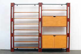 Desk Wall System Modular Customizable Wall System Shelving Storage Unit With Desk
