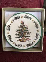 spode gibson tc8 12273tm tree set of 8 paper coasters 4