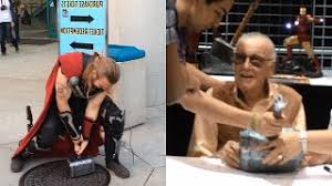 et télécharger real thor s hammer at comikaze stan lee signing